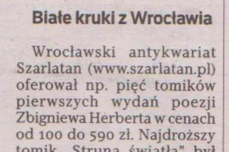 Białe Kruki z Wrocławia