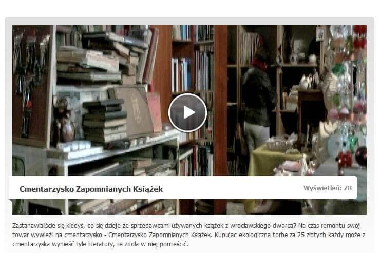 VIDEO iTV wro - wiadomosci o Cmentarzysku