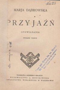 Dabrowska Przyjazn Antykwariat Szarlatan Wroclaw