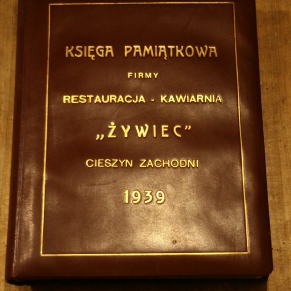 Księga Pamiątkowa firmy Restauracja (2)