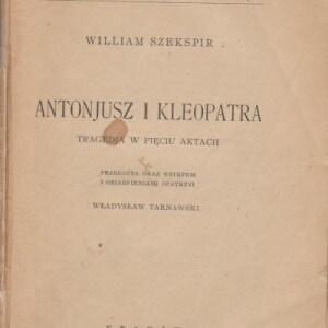 antonjusz i kleopatra