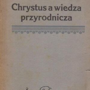 chrystus a wiedza przyrodnicza