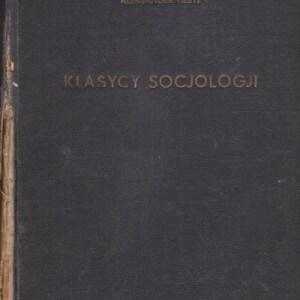 klasycy socjologji