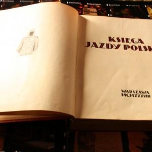Ksiega Jazdy Antykwariat szarlatan Wroclaw 5