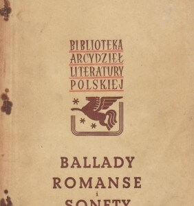 ballady romanse i sonety