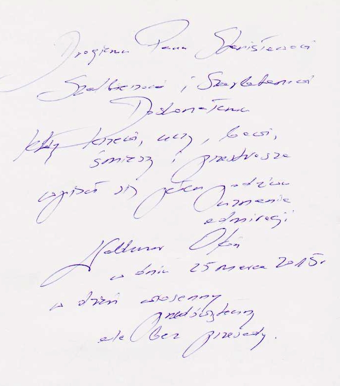 Profesor Waldemar Okoń - pisarz i poeta, historyk sztuki