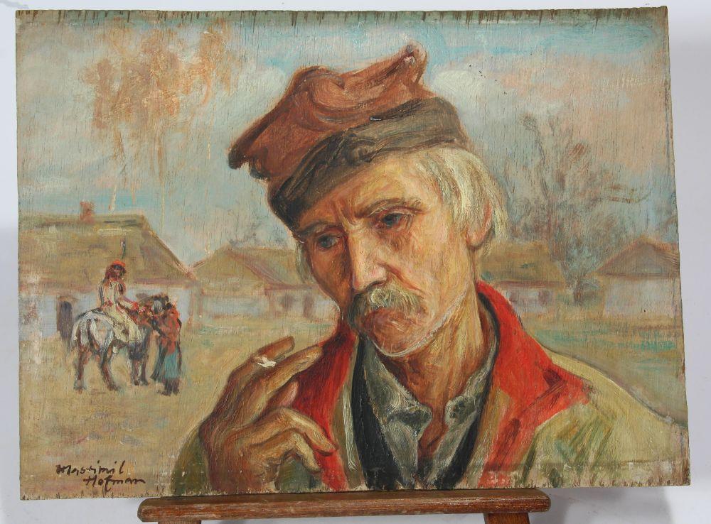 Wlastimil Hofman – dwa muzealne obrazy