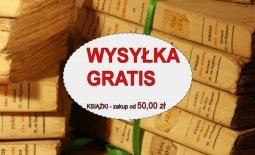 WYSYŁKA GRATIS – książki od 50,00 zł
