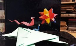 Żabka origami